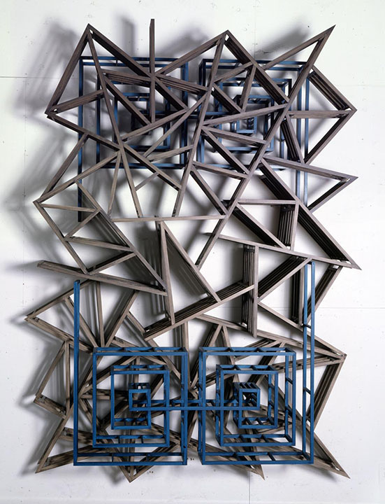 Three Pentagons, 1990