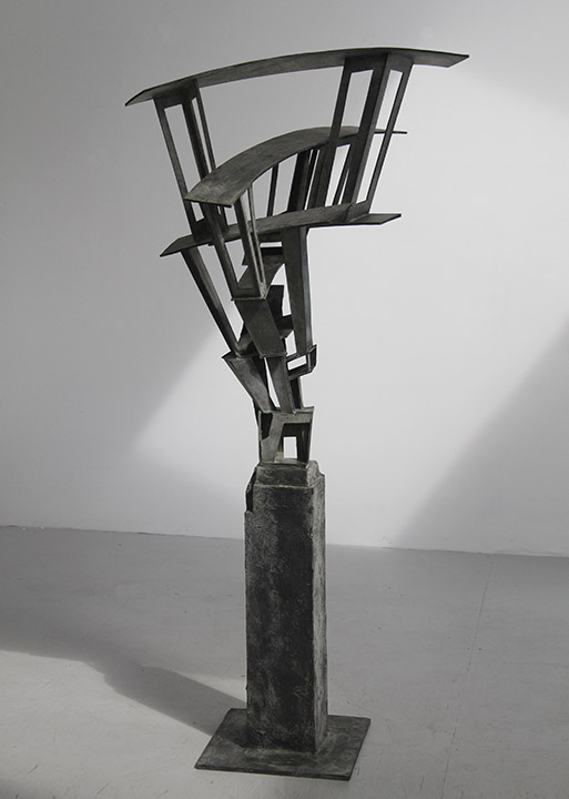 Don Gummer Sculpture Reaching level, 2013