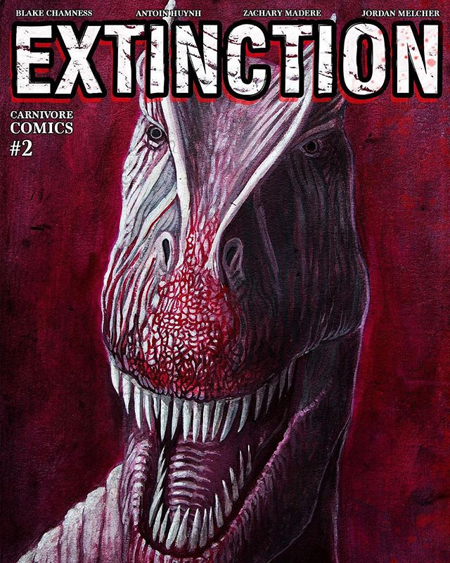 HEY YOU!  DO YOU LIKE DINOSAURS?! DO YOU LIKE ZOMBIES?! THEN GO DOWNLOAD MY NEW COMIC BOOK!!! IT'S FREE (OR HOWEVER MUCH YOU THINK IT'S WORTH!) YOU ALSO GET MY FIRST COMIC BOOK FREE TOO!  THAT'S 2 COMICS FOR THE PRICE OF NONE!! Help spread the news! Help support independent artists!  SHARE THIS AND I'LL LOVE YOU FOREVER!  HTTPS://GUM.CO/EXTINCTION  LINK IN THE BIO! [ ARTISTS ] [@BACHAMNESS][@ZMADERE] [@CARNIVORE.COMICS]