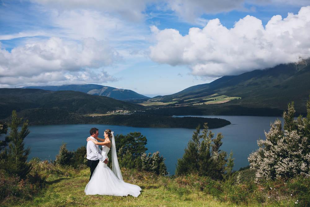 Lake Rotoiti Wedding Photographer