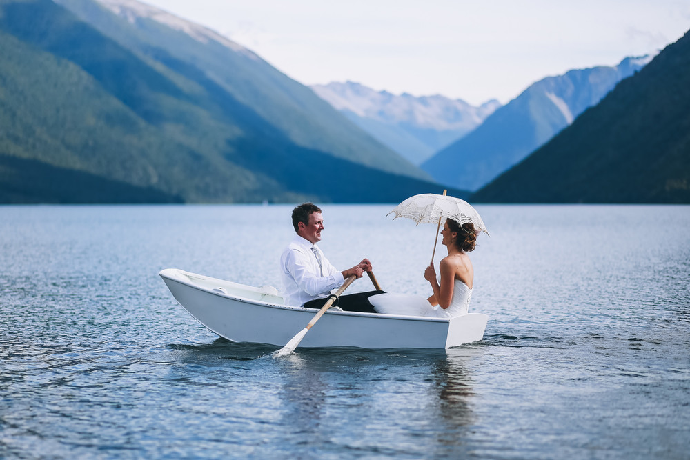 Lake Rotoiti Wedding - St Arnaud Wedding - Nelson Wedding Photography - Nelson Wedding Photographers - The Woods Photography
