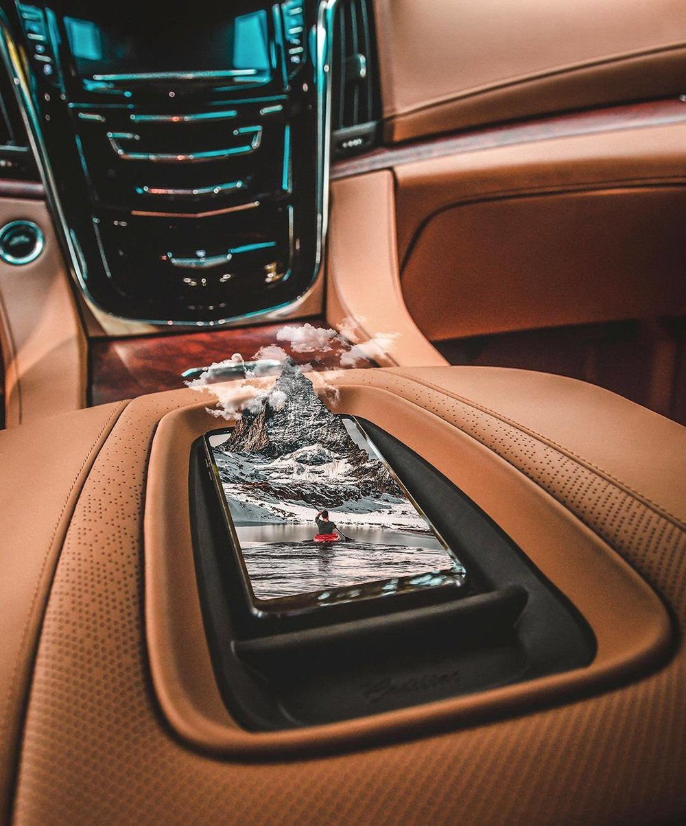Recharge your batteries. #Escalade