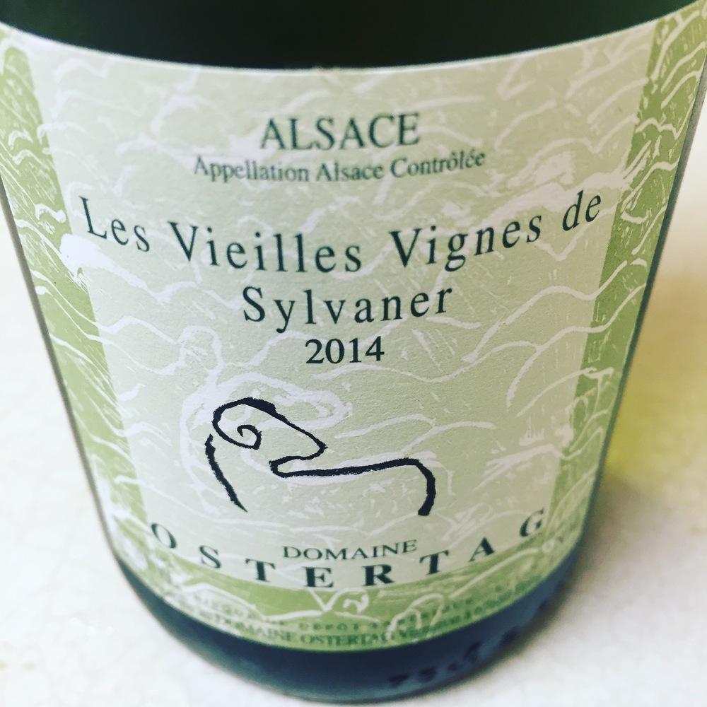 Domaine Ostertag 2014 Les Vieilles Vignes de Sylvaner