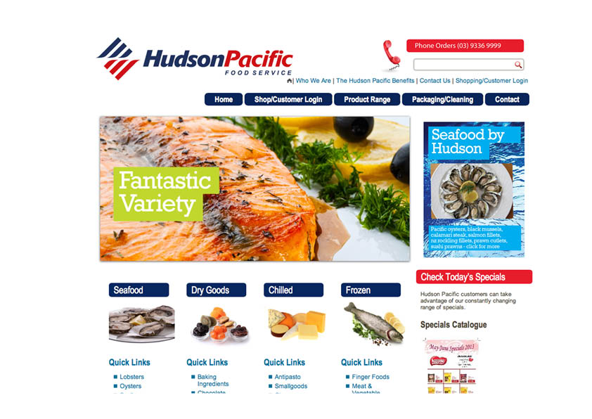 HUDSON PACIFIC WEBSITE DESIGN