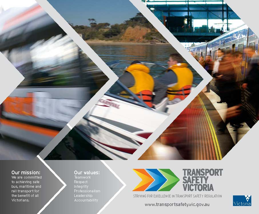 TRANSPORT SAFETY VICTORIA, BRAND IDENTITY AND BRAND LOGO