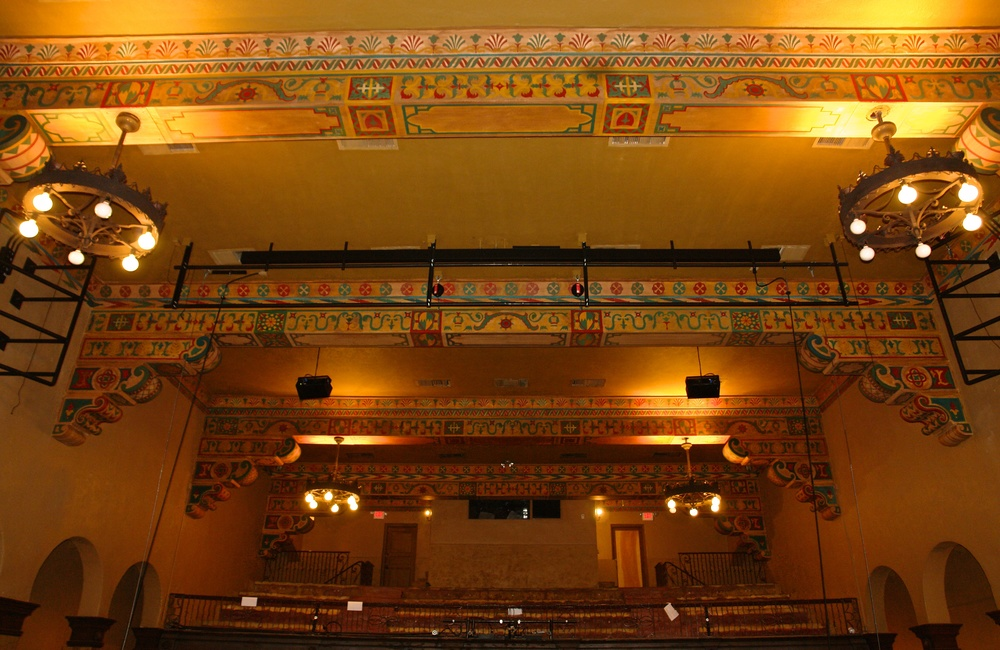 Annie Russell Theatre historic restoration
