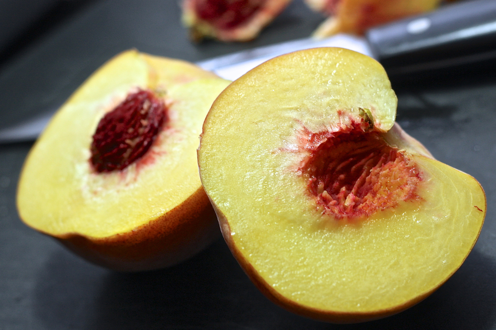 Peaches Cloves Baby Food Puree