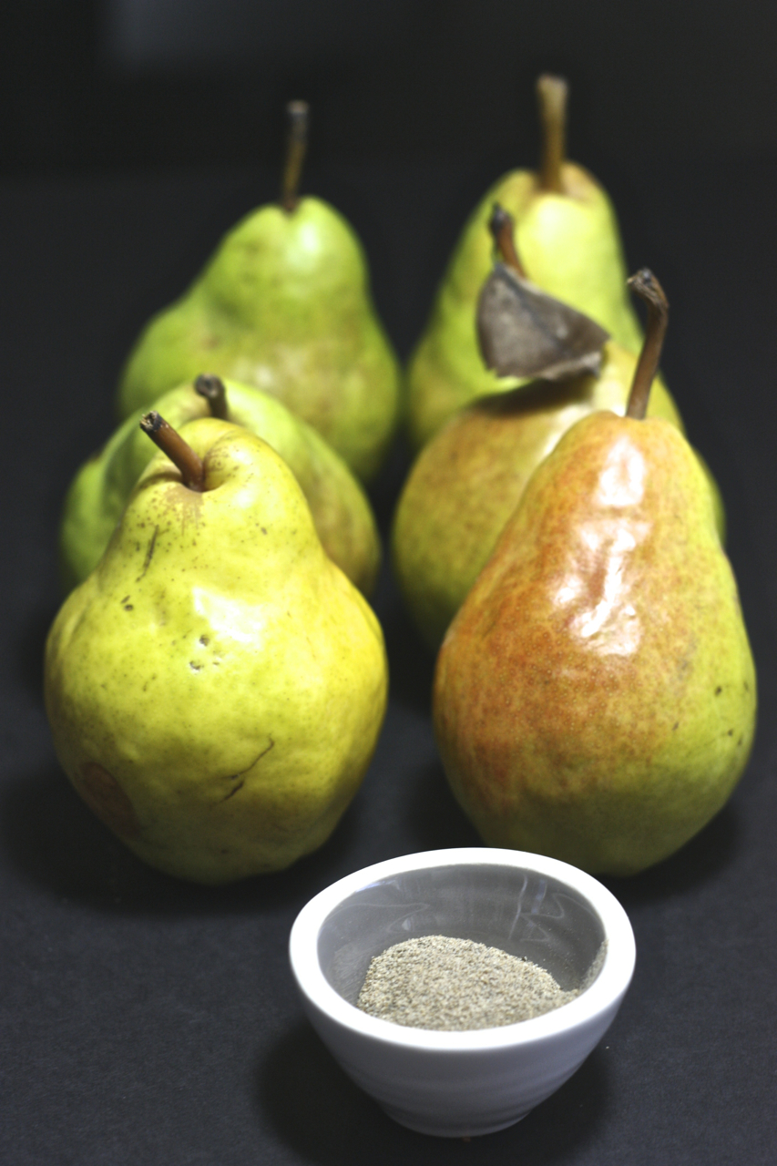Pear Cardamom Baby Food Puree