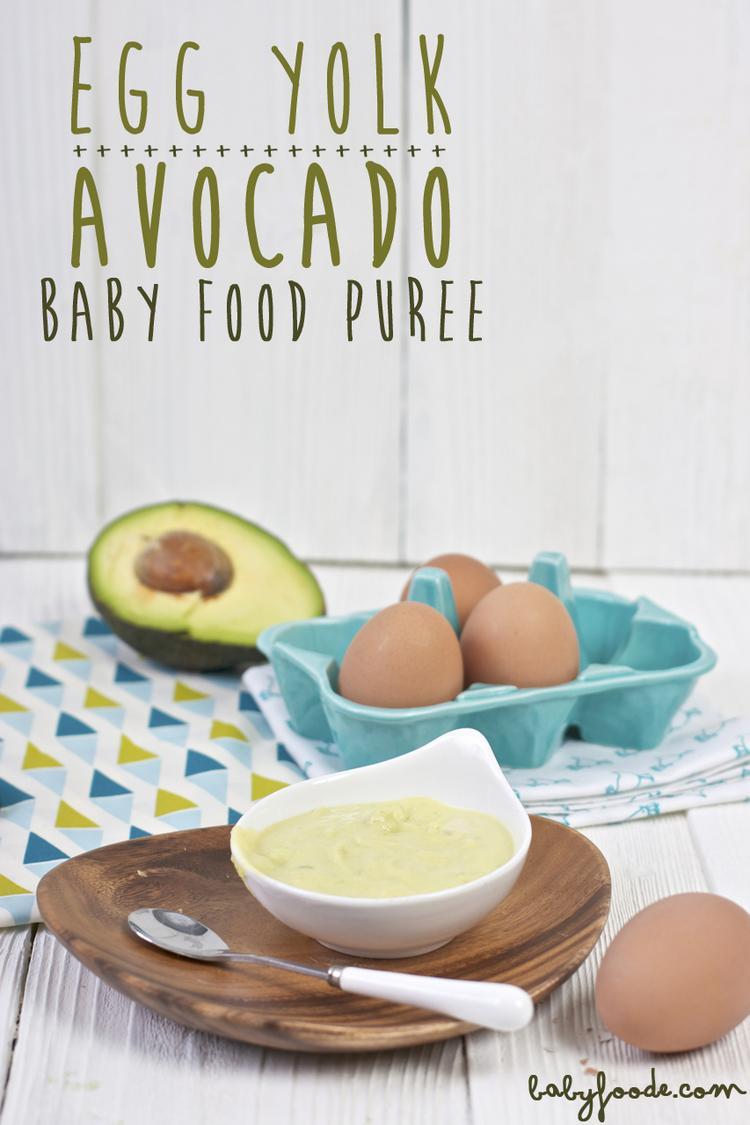 Egg yolk avocado puree baby foode adventurous recipes for egg yolk avocado baby food puree forumfinder Images