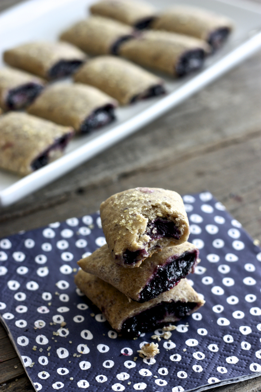 Mini Blueberry + Rosemary Breakfast Bars