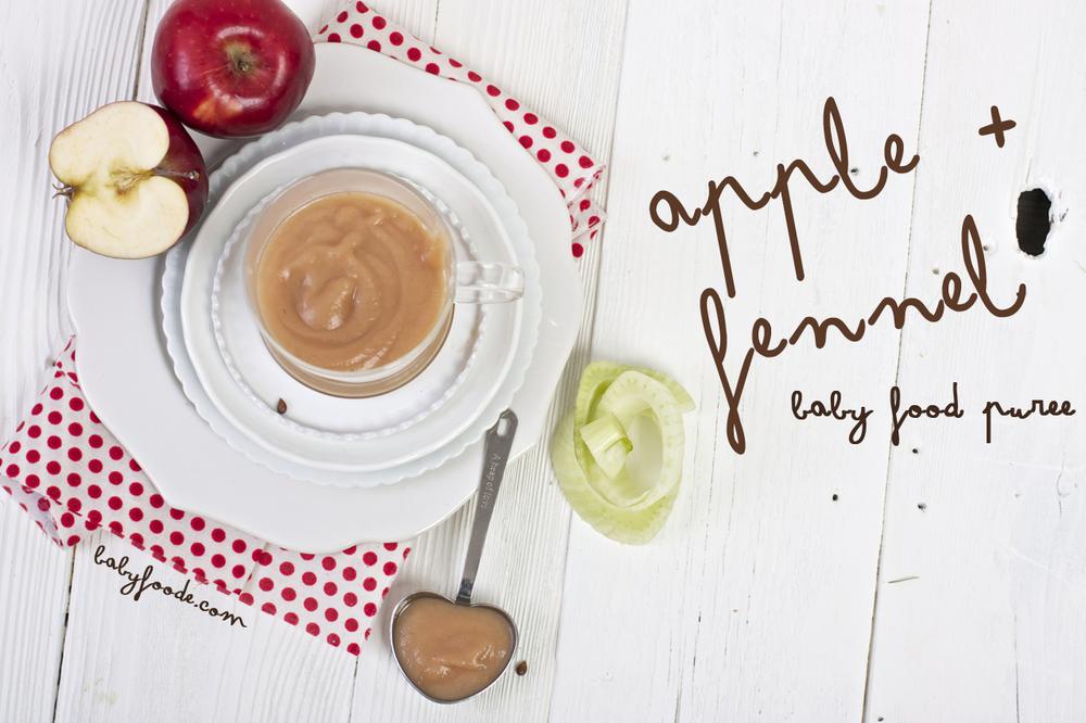 Apple + Fennel Puree