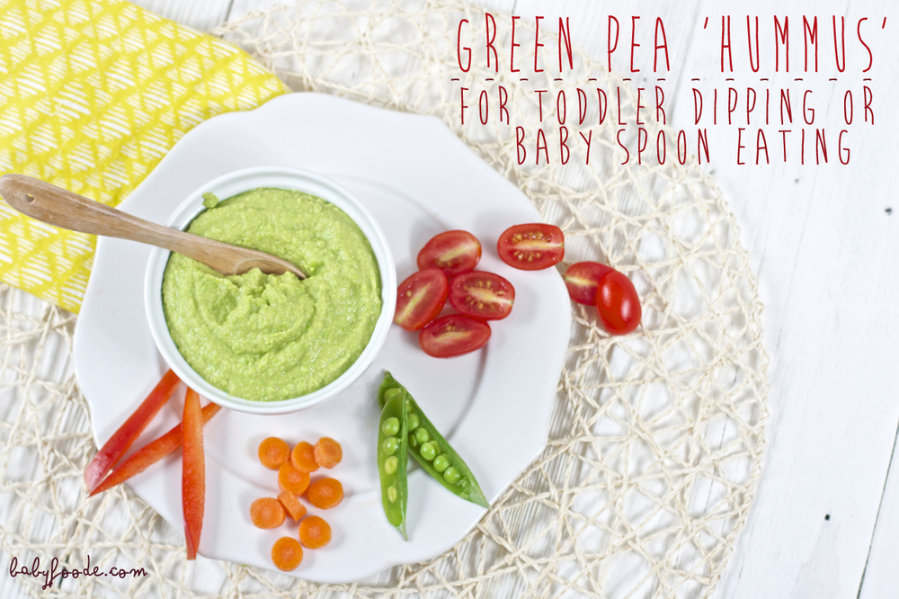 Green 'Pea' Hummus