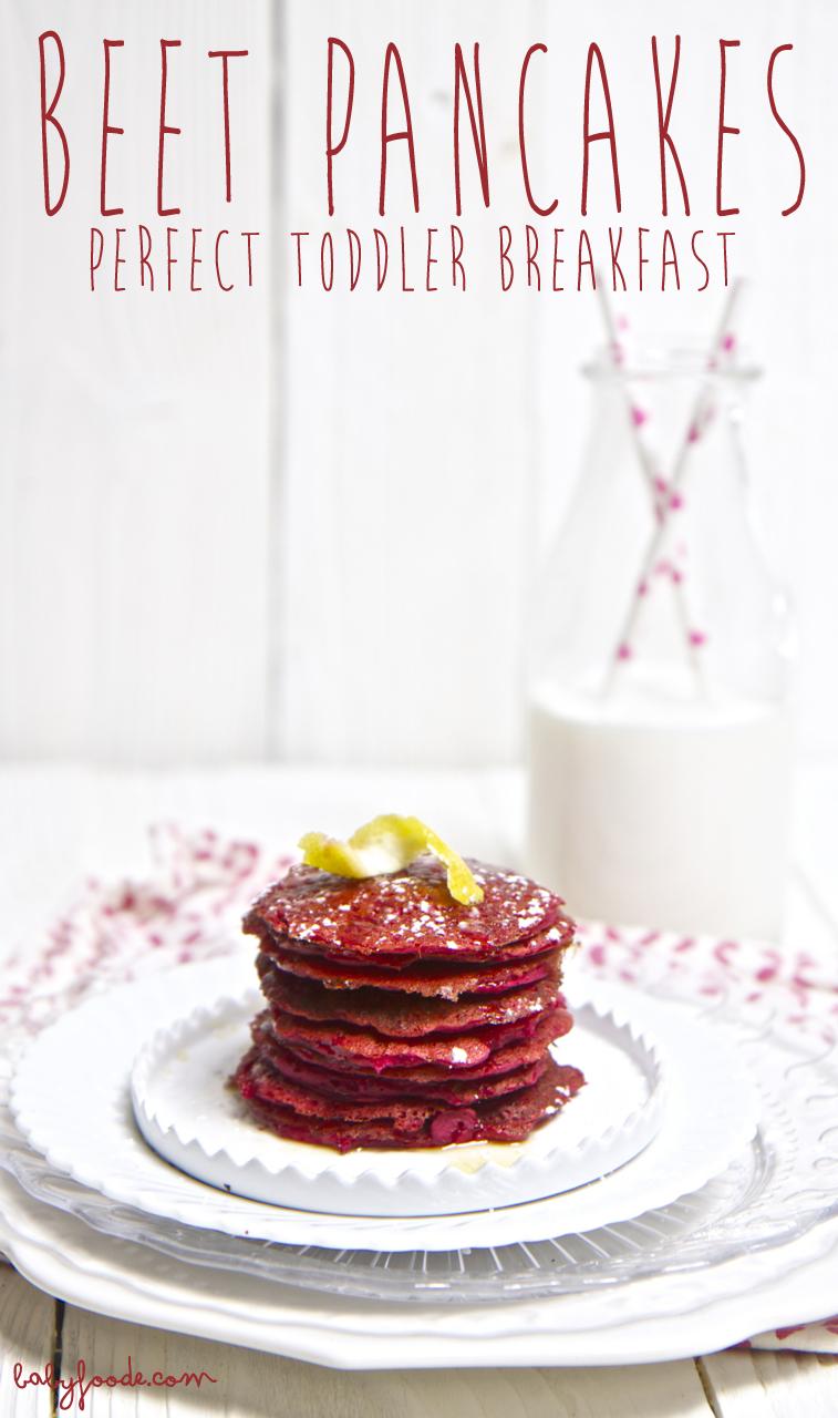 Beet Pancakes + Cinnamon