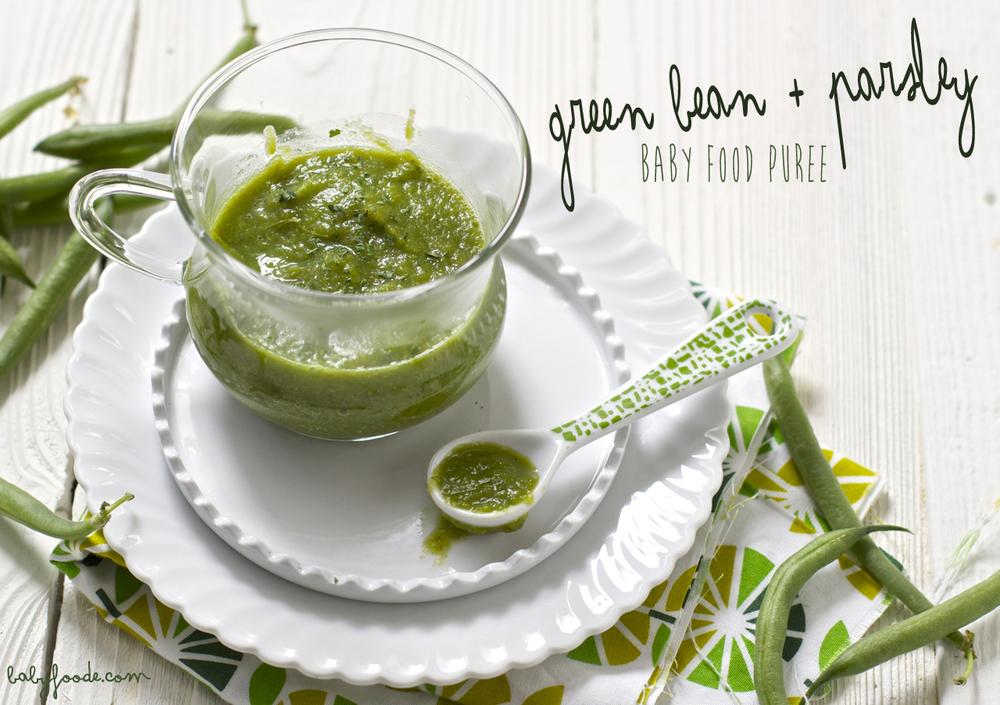 Green Bean + Parsley
