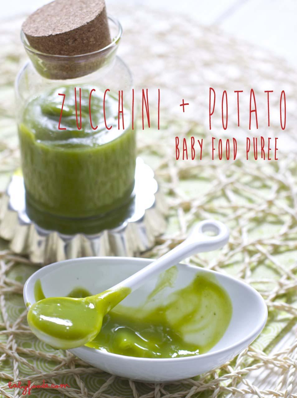 Zucchini + Potato Puree
