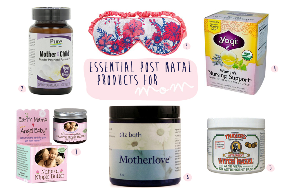 Essential Post Natal Products for Mom