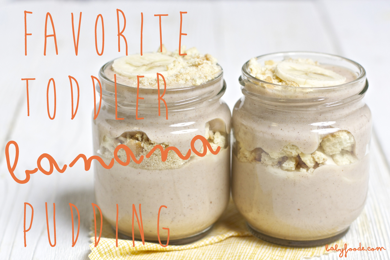 Favorite Toddler Banana Pudding