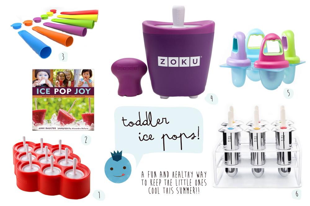 Toddler Ice Pops!