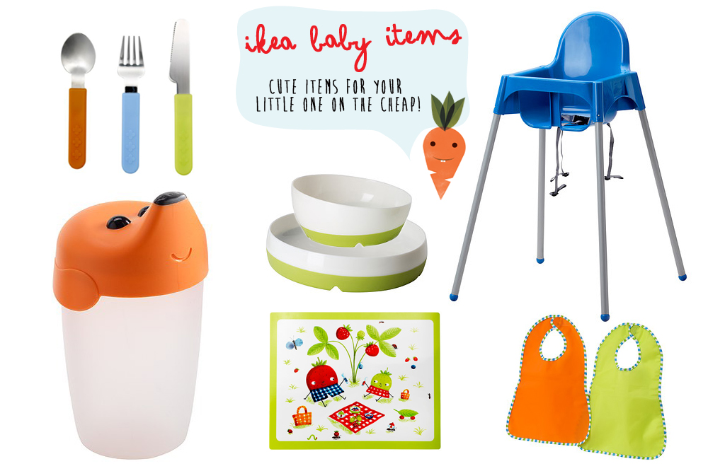 Ikea Baby Items