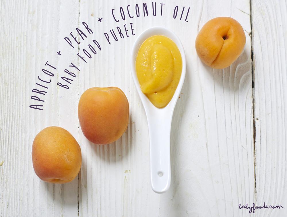 Apricot + Pear + Coconut Oil