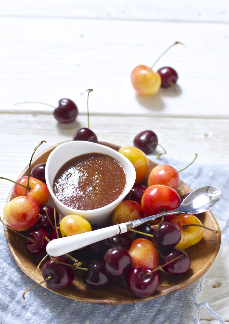 Cherry Basil Baby Food Puree