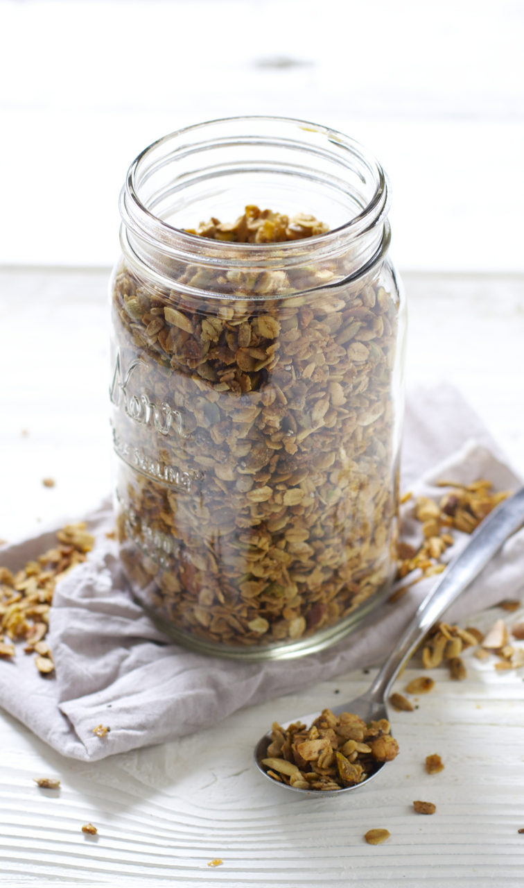 You've Gone Nuts Granola1 - Baby FoodE.