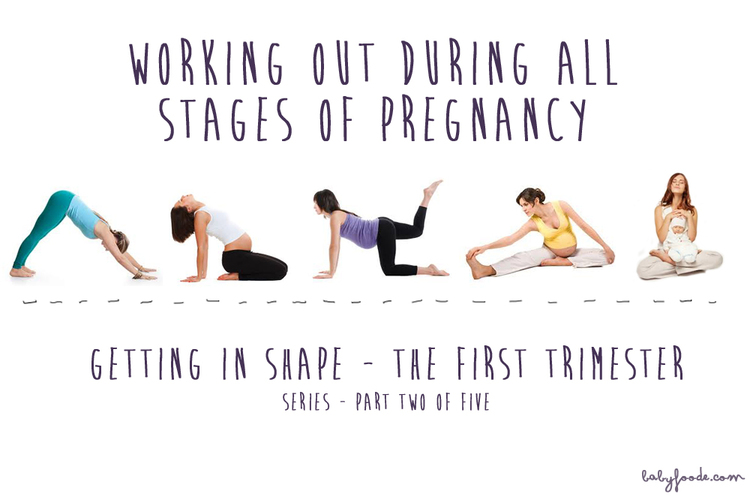 Working Out During All Stages Of Pregnancy Series