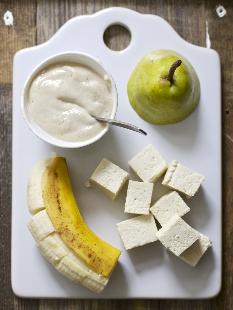 Banana Tofu Pear Baby Foode Adventurous Recipes
