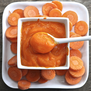 Carrot + Nutmeg Puree