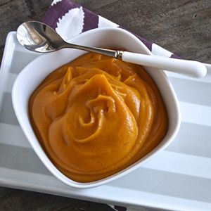Sweet Potato + Curry Puree