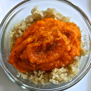 Carrot + Apricot + Quinoa + Curry