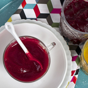Golden and Red Beet Puree