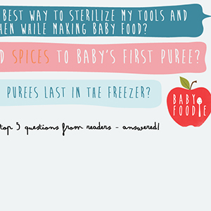 Question #3 - How Long do Purees Last in the Freezer?