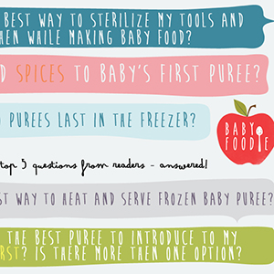 Question #5 - What is the Best Puree to Introduce to Baby First?