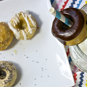 Baked Mini Donuts - 4 Ways
