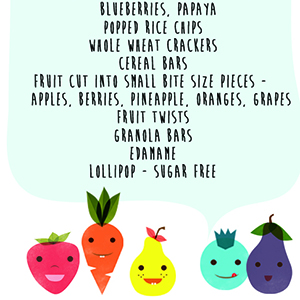 Healthy Travel Snacks for Toddler