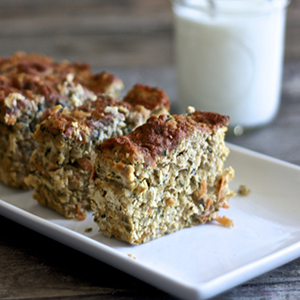 Chicken + Apricot + Sage + Kale Loaf