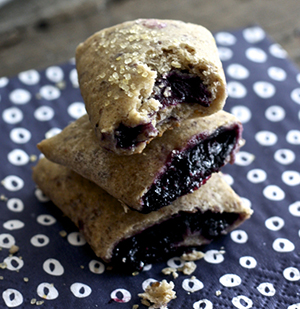 Mini Blueberry + Rosemary Breakfast Bars