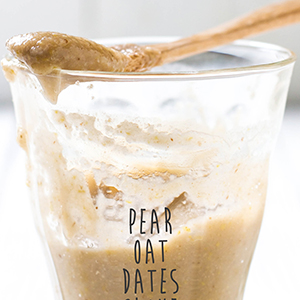 Pear + Oat + Dates + Clove Puree