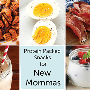 Protein Packed Snacks for New Mommas