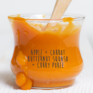 Apple + Butternut Squash + Carrot + Curry Puree