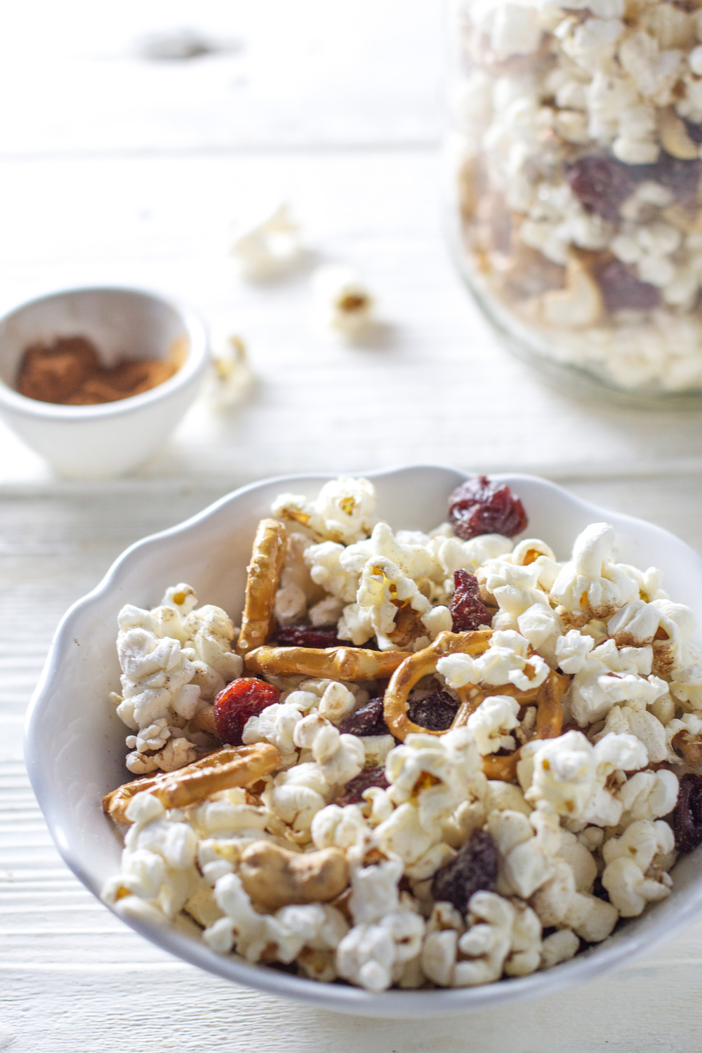 Popcorn Trail Mix - Baby FoodE