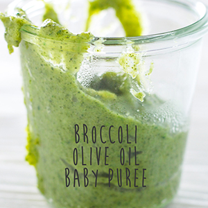 Broccoli Olive Oil Puree