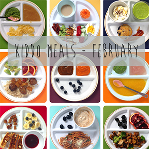 What the Kiddos Ate - February