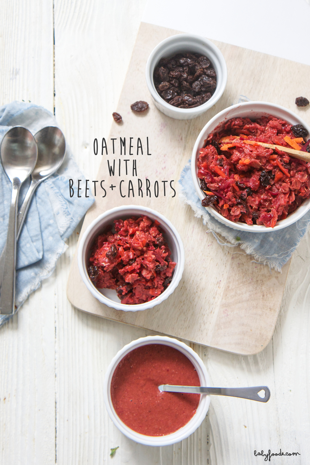 oatmeal with beets carrots baby foode adventurous recipes for
