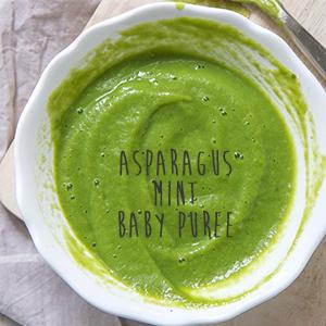 Asparagus + Mint