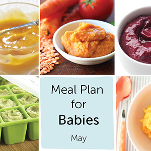 Meal Plan for Babies - May