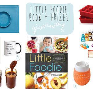 //Closed// Little Foodie Book + Prizes Giveaway