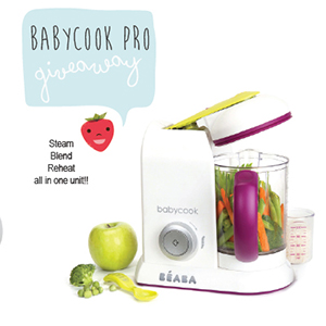 //Closed// Babycook Pro Giveaway