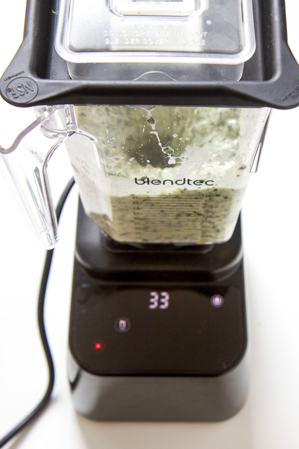 toddler green smoothie - blendtec - babyfoode